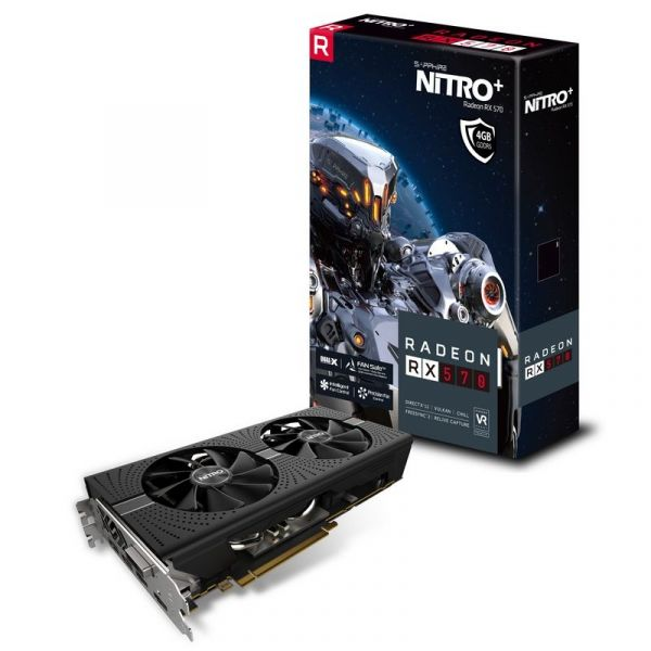 TARJETA DE VIDEO SAPPHIRE NITRO+ RX-570 4GB GDDR5 11266-14-20G AMD