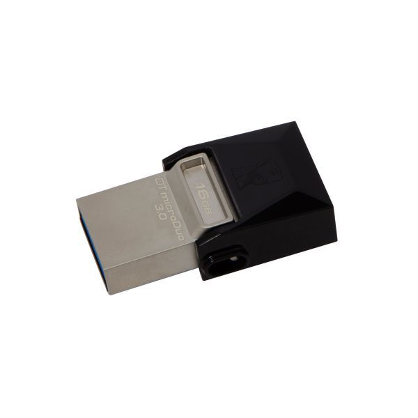 MEMORIA FLASH KINGSTON 16 GB MICRODUO USB 3.0 (DTDUO3/16GB)