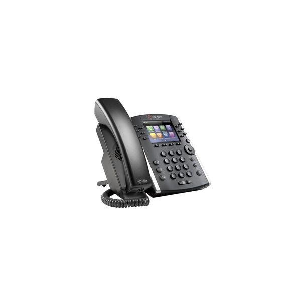 TELÉFONO IP VVX 410 POLYCOM GIGABIT ETHERNET 12 LÍNEAS ALTAVOZ NEGRO