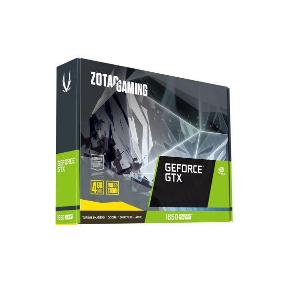 TARJETA DE VIDEO ZOTAC NVIDIA GEFORCE GTX 1650 SUPER 4G ZT-T16510F-10L