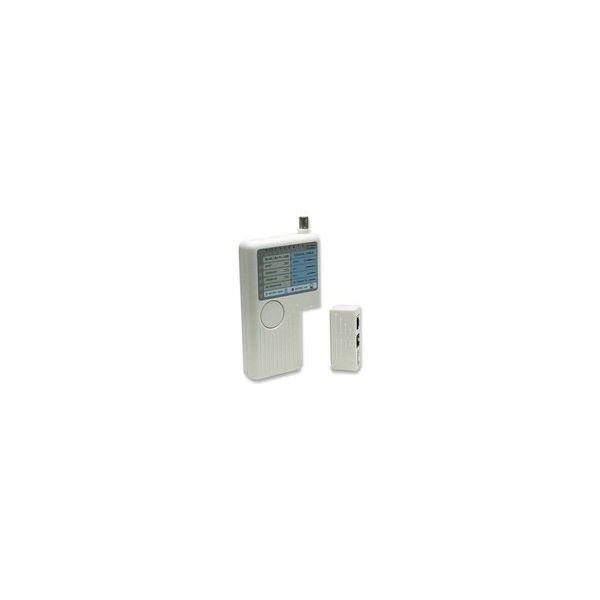 PROBADOR DE CABLES INTELLINET RJ-45/RJ-11/USB/BNC (351911)