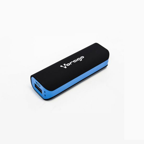 POWER BANK VORAGO PB-150 2200 mAh NEGRO/AZUL BOLSA