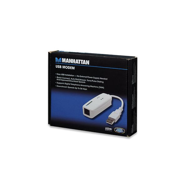 FAX MODEM MANHATTAN USB 56K 154109