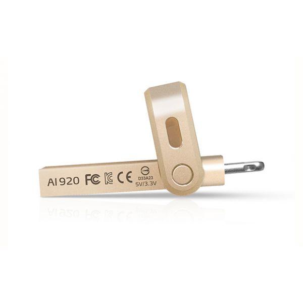 MEMORIA OTG ADATA 128GB USB 3.1 COLOR ORO (AAI920-128G-CGD)