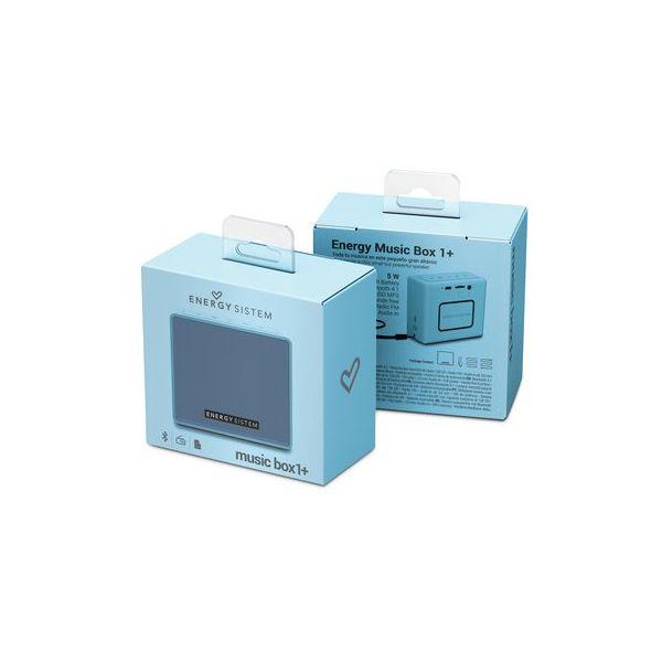 BOCINA PORTATIL ENERGY SISTEM EY-445950 5 W AZUL 100 HZ ~ 18 KHZ