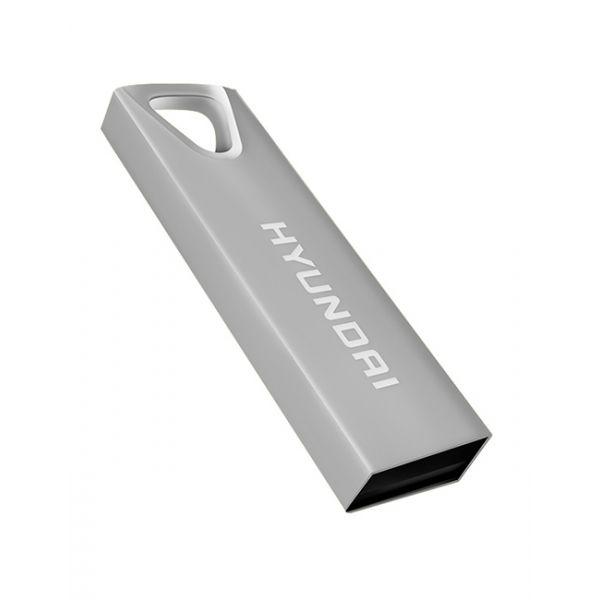 MEMORIA USB HYUNDAI U2BK/32GAS PLATA 32 GB USB 2.0 10 MB/S 3 MB/S