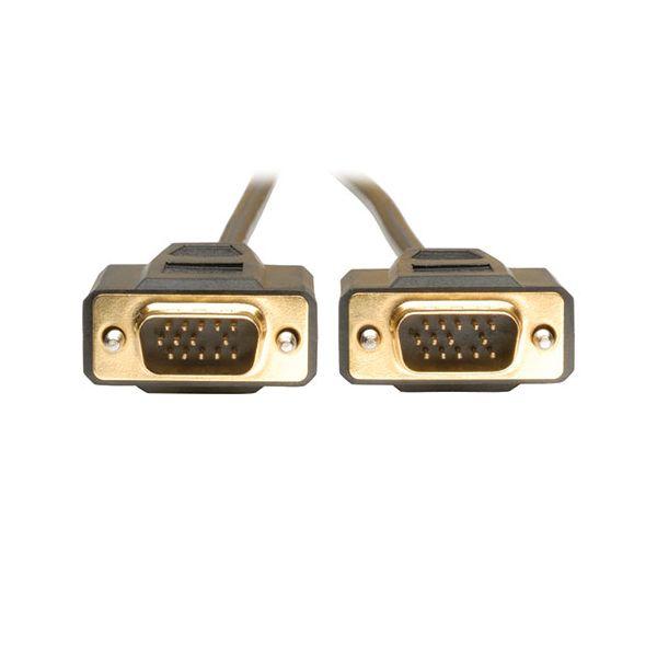 CABLE TRIPP LITE VGA (D-SUB) MACHO 4.57M NEGRO P512-015