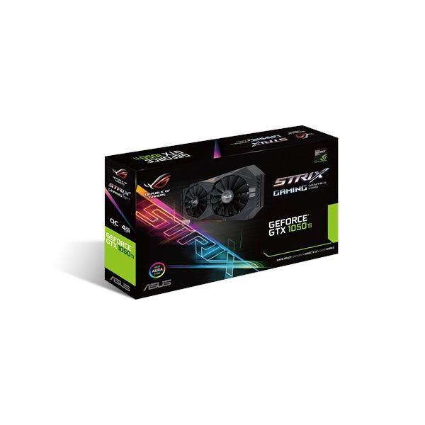 T. VIDEO ASUS STRIX NVIDIA GEFORECE GTX 1050TI 4GB STRIX-GTX1050TI-O4G