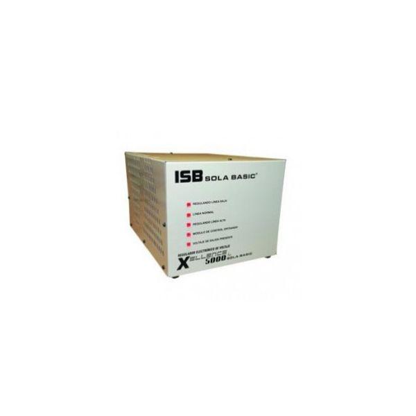 REGULADOR SOLA BASIC XELLENCE 5000, MONOFASICO, XL-13-250,5000VA