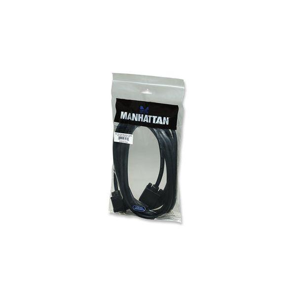 CABLE MONITOR SVGA MANHATTAN 8MM HD15M-M  4.5M 312721