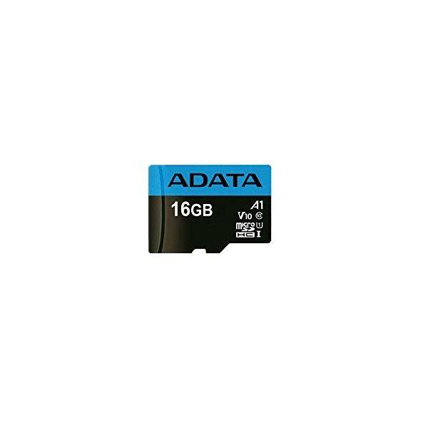 MEMORIA MICRO SD ADATA 16GB UHS-I CLASE 10 A1 AUSDH16GUICL10A1-RA1