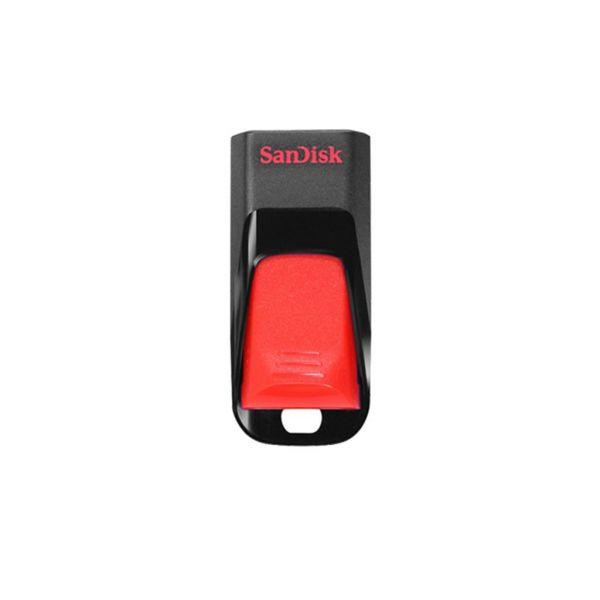 MEMORIA FLASH SANDISK 32GB USB 2.0 NEGRO-ROJO (SDCZ51-032G-B35)