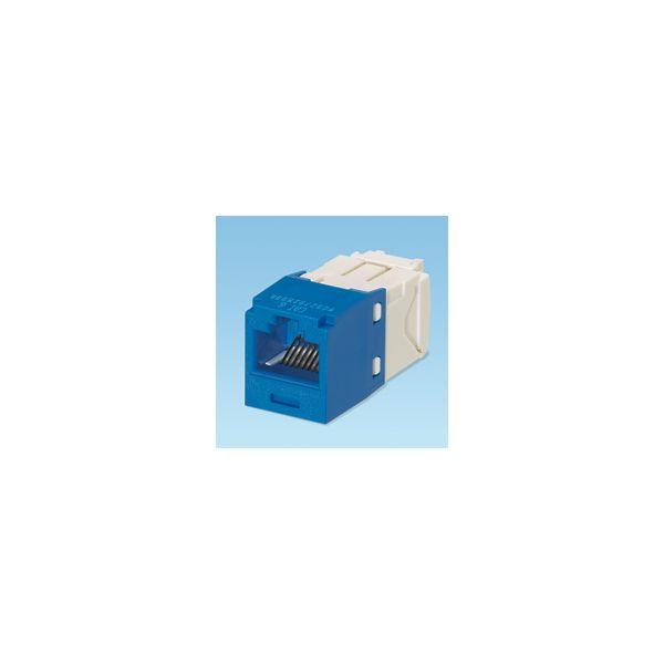 JACK MODULAR PANDUIT MINICOM GIGATX RJ45 CAT6 CONF A-B AZUL(CJ688TGBU)