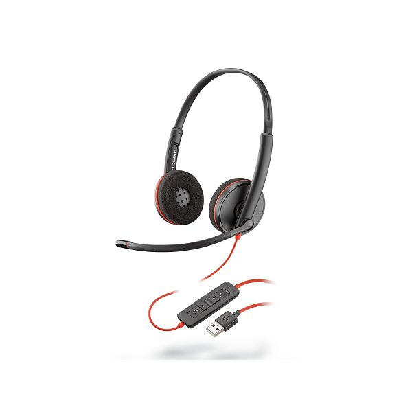 AUDIFONOS CON MICROFONO PLANTRONICS BLACKWIRE 3220 USB-C 209745-101
