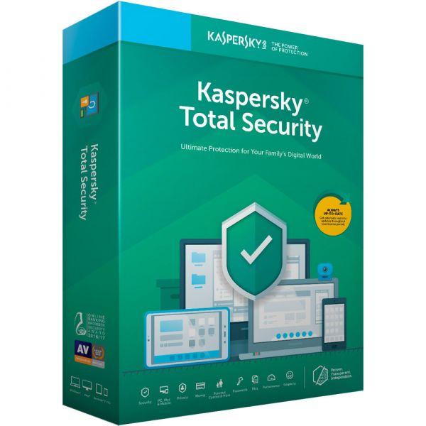 ANTIVIRUS KASPERSKY TOTAL SECURITY MULTIDEVICES  5 USR 1 AÑO TMKS-181