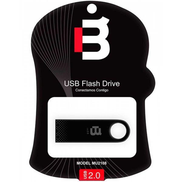 MEMORIA USB FLASH BLACKPCS 2108 64GB NEGRO PIANO METAL MU2108PBL-64
