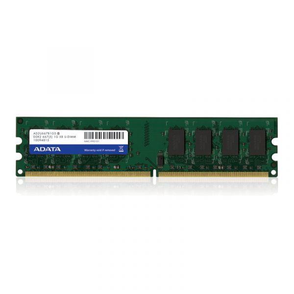 MEMORIA DDR II ADATA 1 GB 667Mhz UDIMM (AD2U667B1G5-S)