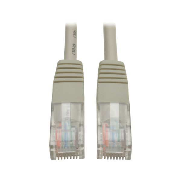 CABLE PATCH TRIPP LITE CAT5E UTP RJ45 GRIS 4.57M N002-015-GY