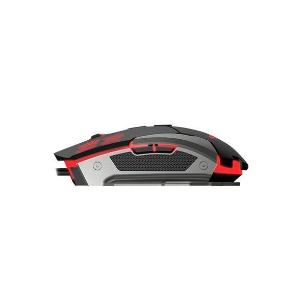 MOUSE GAMING NACEB TECHNOLOGY NA-630 USB NEGRO/ROJO