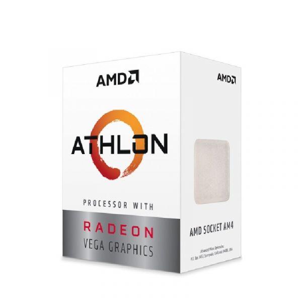 PROCESADOR AMD ATHLON 3000G DUAL CORE 3.5 GHZ AM4 VEGA 3 YD3000C6FHBOX