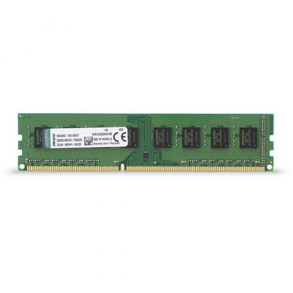 MEMORIA DDR3 KINGSTON 8 GB 1333 Mhz STD Height 30mm(KVR1333D3N9H/8G)