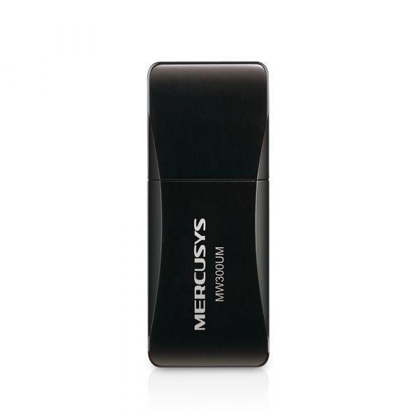 TARJETA DE RED MERCUSYS MW300 USB 2.0 INALAMBRICA 300 MBPS 802.11N/G/B