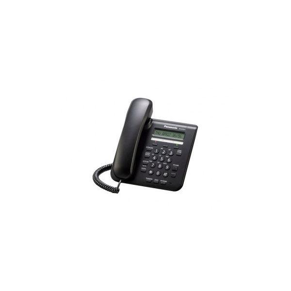 TELEFONO IP PANASONIC KX-NT511 PANTALLA 1 LINEA ETHERNET NEGRO