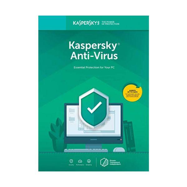 ANTIVIRUS KASPERSKY 3 USUARIOS 1 AÑO TMKS-186