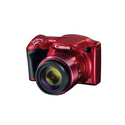 "CAMARA CANON SX420 20 MPX ZOOM 42X LCD 3"" HD ROJA 1069C001AA"
