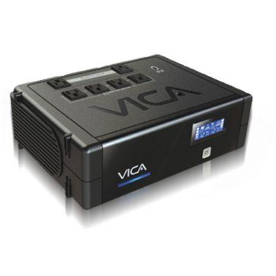 NO-BREAK VICA 900 VA 500 W NEGRO HOGAR Y OFICINA