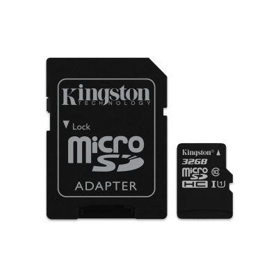 MEMORIA MICRO SD KINGSTON CANVAS SELECT 32GB UHS-I CL10 (SDCS/32GB)