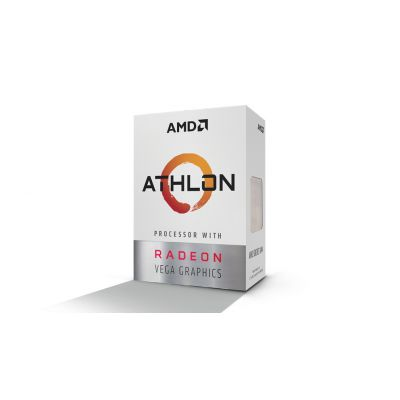 PROCESADOR AMD ATHLON 200GE 2CORE 3.2GHZ 35W VEGA 3 AM4 YD200GC6FBBOX