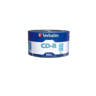 DISCO CD-R VERBATIM 97488 - CD-R 700 MB 50 PIEZAS 52X 80 MIN