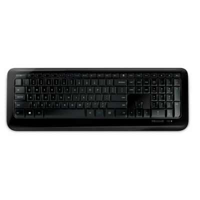 TECLADO MICROSOFT WIRELESS DESKTOP 850 USB, NUMÉRICO, COLOR NEGRO