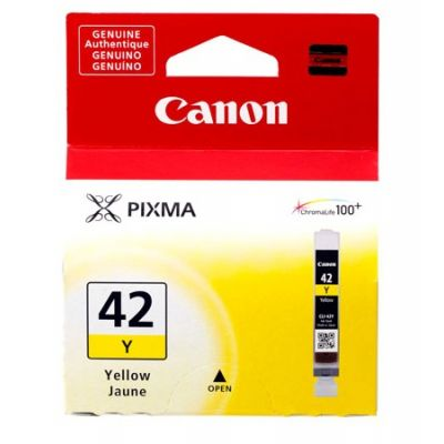 TANQUE TINTA CANON CLI-42 Y AMARILLO 13ML P/PIXMA PRO-100 (6387B009AA)
