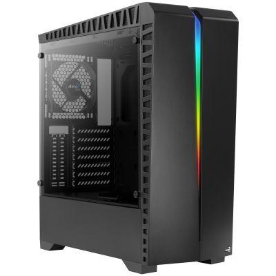 GABINETE GAMER AEROCOOL SCAR ATC RGB NEGRO