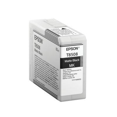 CARTUCHO DE TINTA NEGRA EPSON T850800 HEAVYDUTY MBLK 80ML
