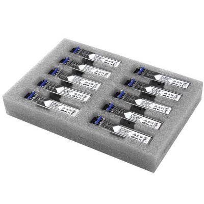 STARTECH PAQ. 10SFPs GbFIBRA GLC-LH-SMD 1000BASE-LX-LH GLCLHSMD10ST