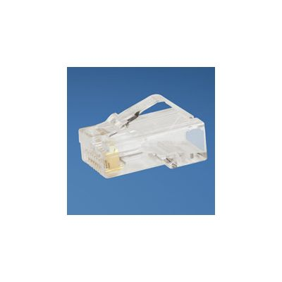 PLUG MODULAR RJ45 PANDUIT MP588-L TRANSPARENTE