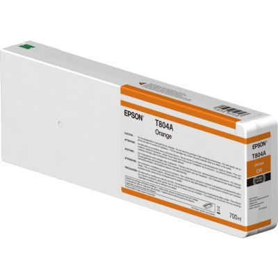 CARTUCHO DE TINTA NARANJA EPSON T804A00 ULTRACHROME HD 700ML