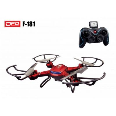 DRONE CAM F181C 2MP QUADCOPTER 360ø LED 2.4GHZ 300mts 90 DIAS GTIA