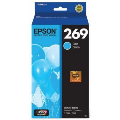 CARTUCHO EPSON T269 CYAN PARA XP-702 (T269220)
