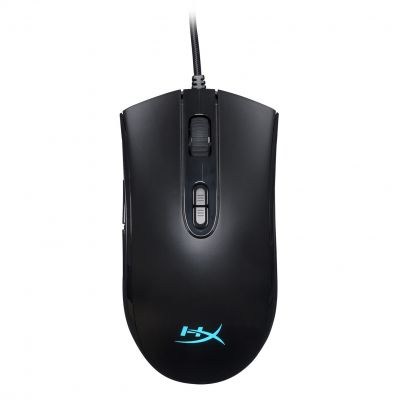 MOUSE GAMER HYPERX PULSEFIRE CORE 6200 DPI RGB ALAMBRICO HX-MC004B