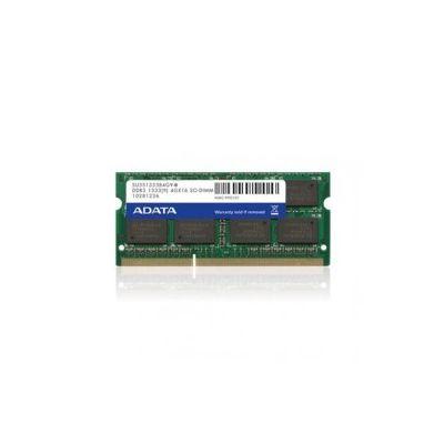 MEMORIA SODIMM DDR3 ADATA 2 GB 1333Mhz (AD3S133322G9-S)