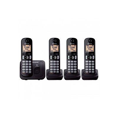 TELEFONO UNILINEA INAL PANASONIC KX-TGC214MEB ESCRITORIO NEGRO SI