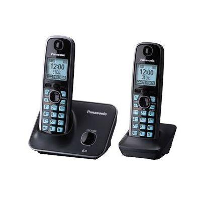 TELEFONO INALAMBRICO PANASONIC ESCRITORIO NEGRO ALTAVOZ LCD