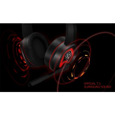 DIADEMA GAMER XPG EMIX H20 7.1 CANALES VIRTUAL, USB PC EMIX H20