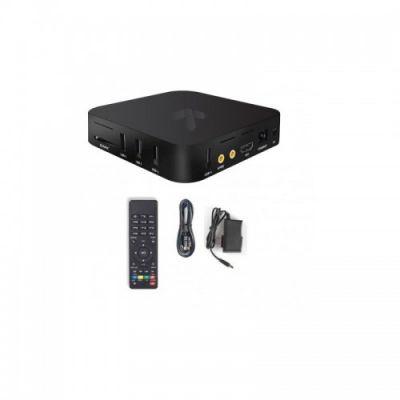 TV BOX STYLOS SMART NEGRO CONTROL REMOTO ANDROID 6.0 STVTBX1B