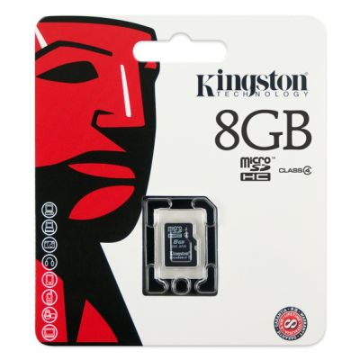 MEMORIA MICRO SD KINGSTON TECHNOLOGY SDC4/8GBSP 8 GB