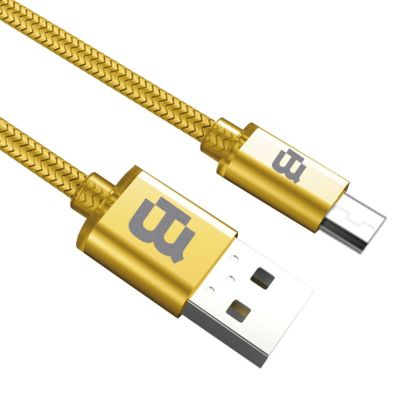CABLE MICRO USB BLACKPCS ORO 2M CAGMT2M-3